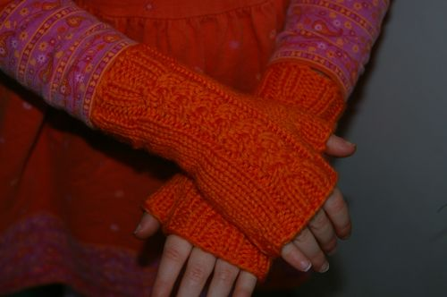 Girly Mitts