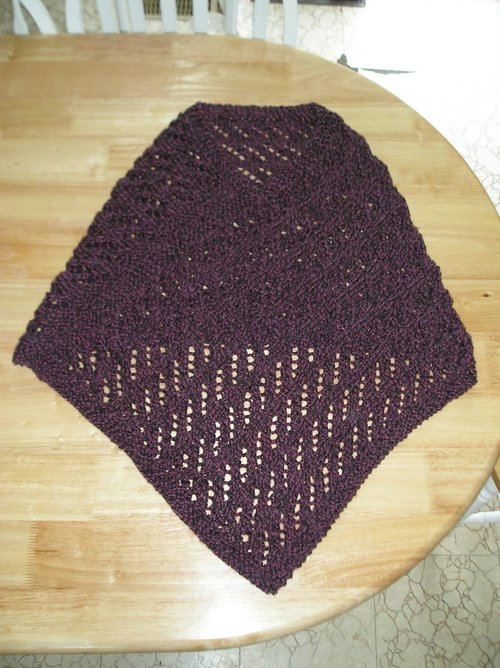 Easy Lace Poncho