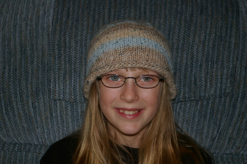 Rolled Brim Hat
