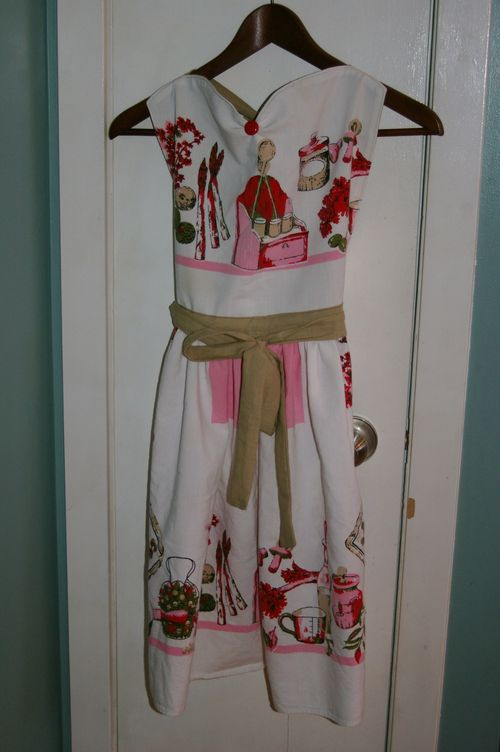 Tablecloth Apron